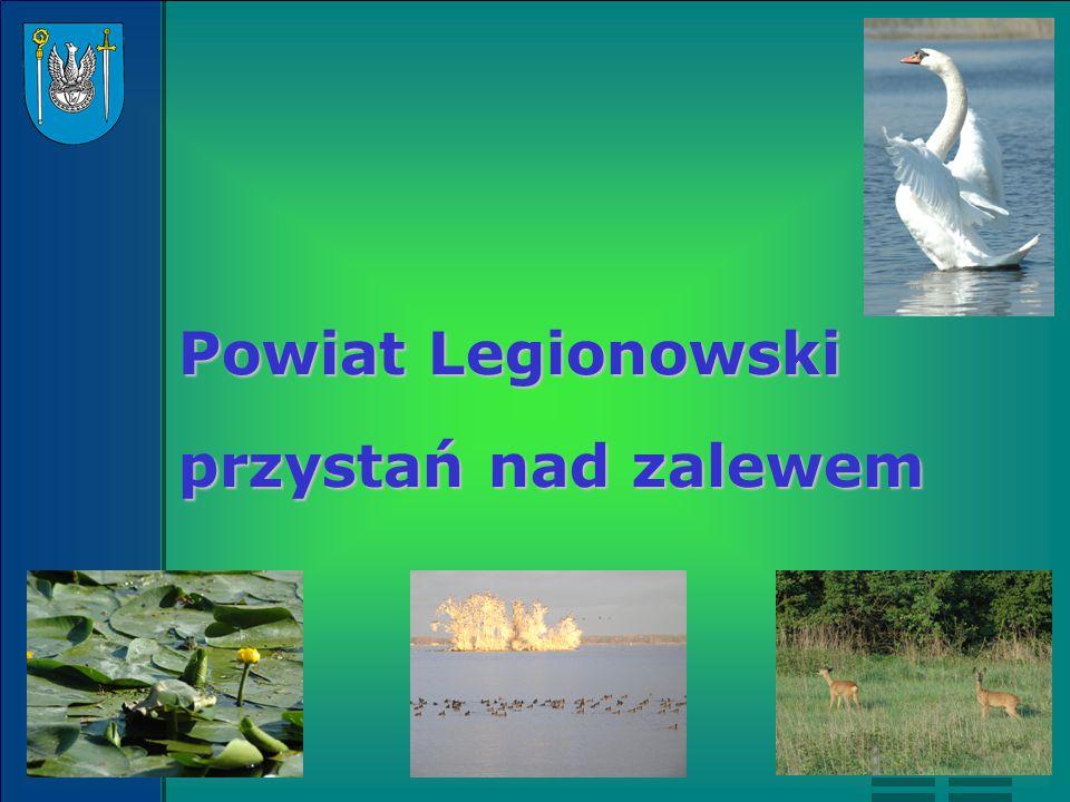 Powiat Legionowski przystań nad zalewem