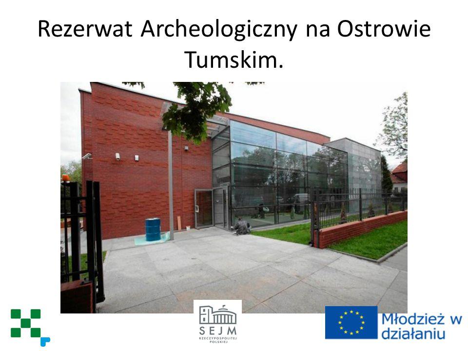 Rezerwat Archeologiczny na Ostrowie Tumskim.