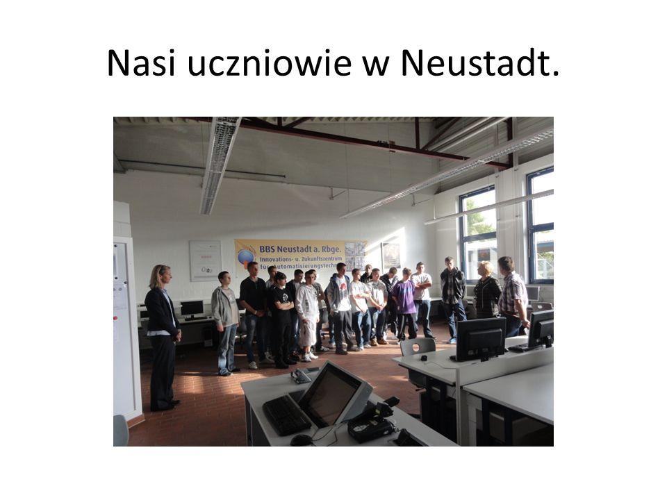 Nasi uczniowie w Neustadt.