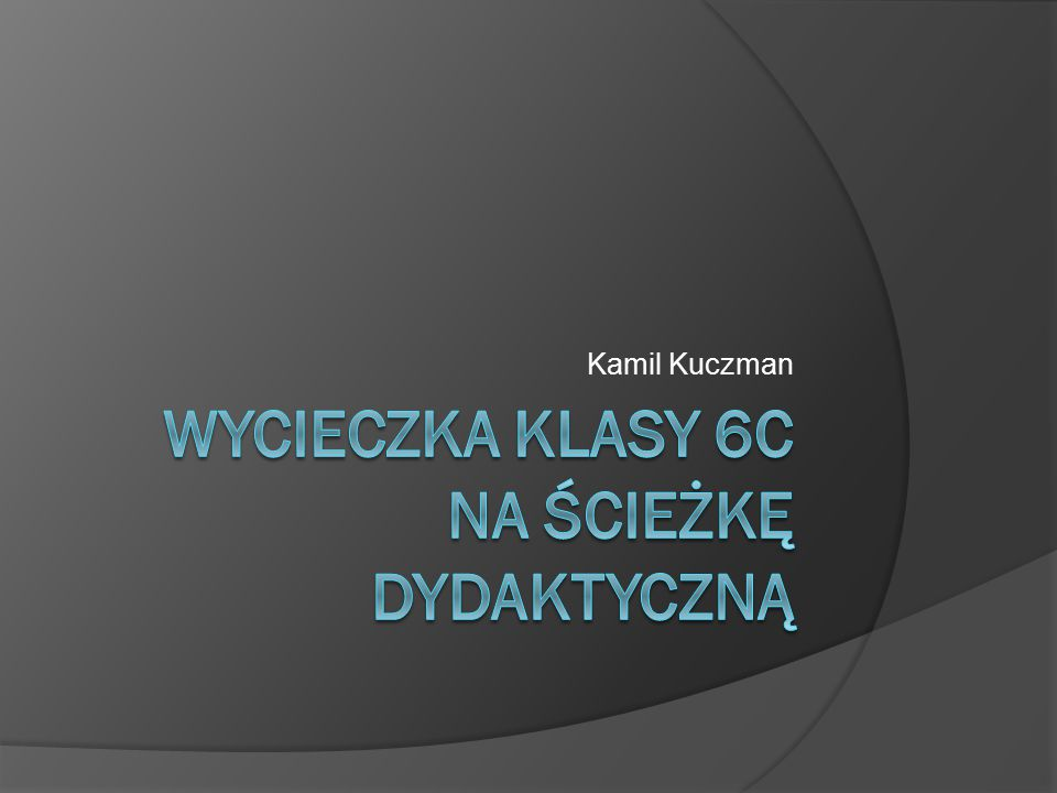 Kamil Kuczman