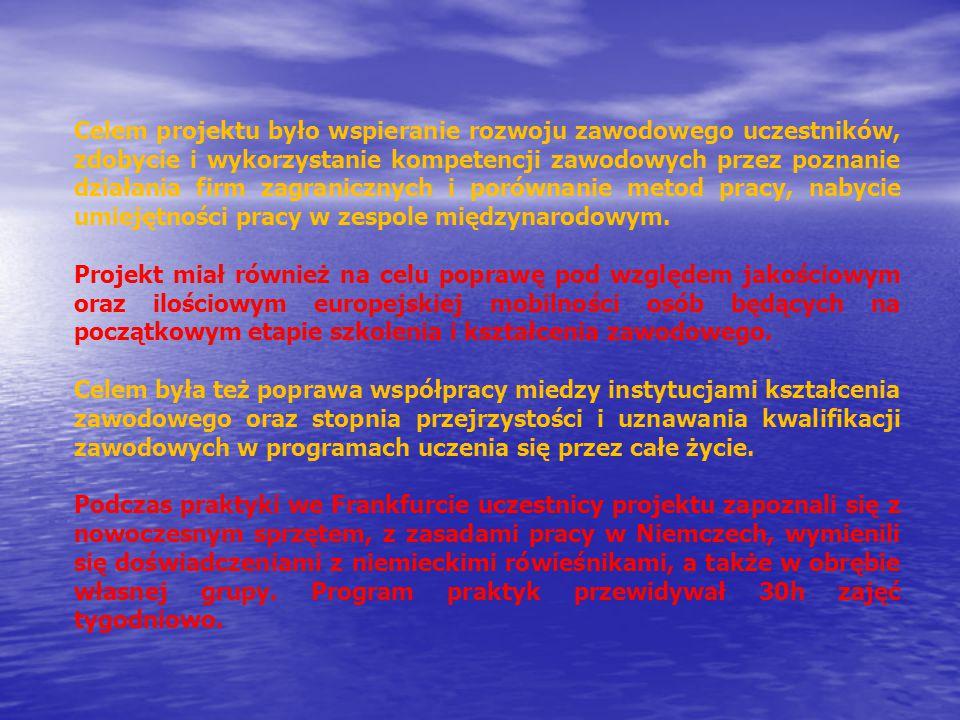 """""""Mobilność europejska atutem na rynku pracy Prezentacja przygotowana przez uczestników z: OSiW BARLINEK, OSIW MIELENKO DRAWSKIE, HP KOSZALIN Projekt współfinansowany przez Unię Europejską w ramach Europejskiego Funduszu Społecznego – Programu Operacyjnego Kapitał Ludzki na zasadach Programu Leonardo da Vinci będącego częścią Programu """"Uczenie się przez całe życie Prezentacja odzwierciedla jedynie stanowisko autora i Komisja Europejska ani Narodowa Agencja nie ponoszą odpowiedzialności za umieszczoną w niej zawartość merytoryczną oraz za sposób wykorzystania zawartych w niej informacji"""