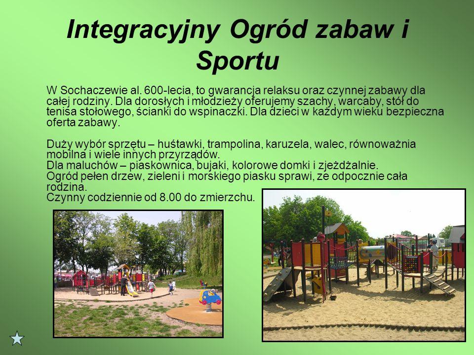 Integracyjny Ogród zabaw i Sportu W Sochaczewie al.