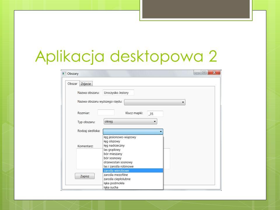 Aplikacja desktopowa 2