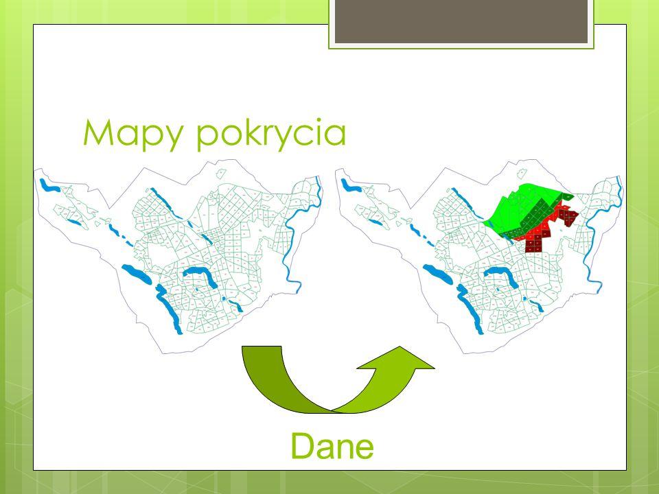 Mapy pokrycia Dane