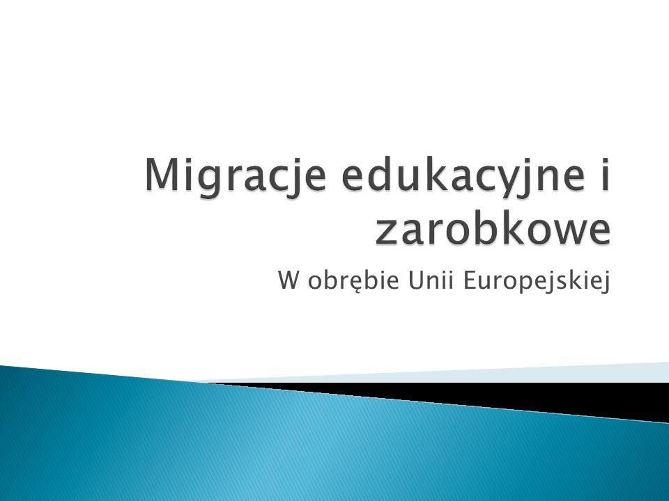 W obrębie Unii Europejskiej