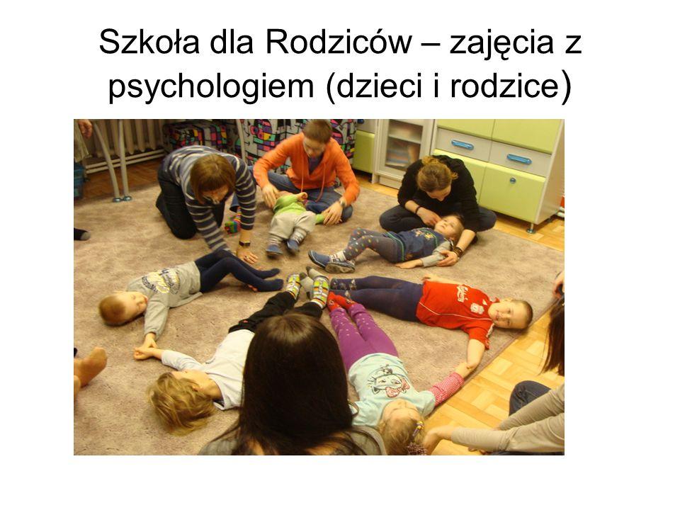 Szkoła dla Rodziców – zajęcia z psychologiem (dzieci i rodzice )