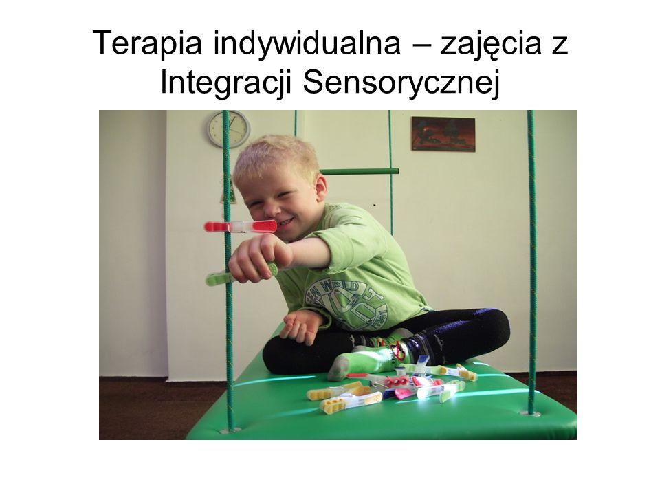 Terapia indywidualna – zajęcia z Integracji Sensorycznej