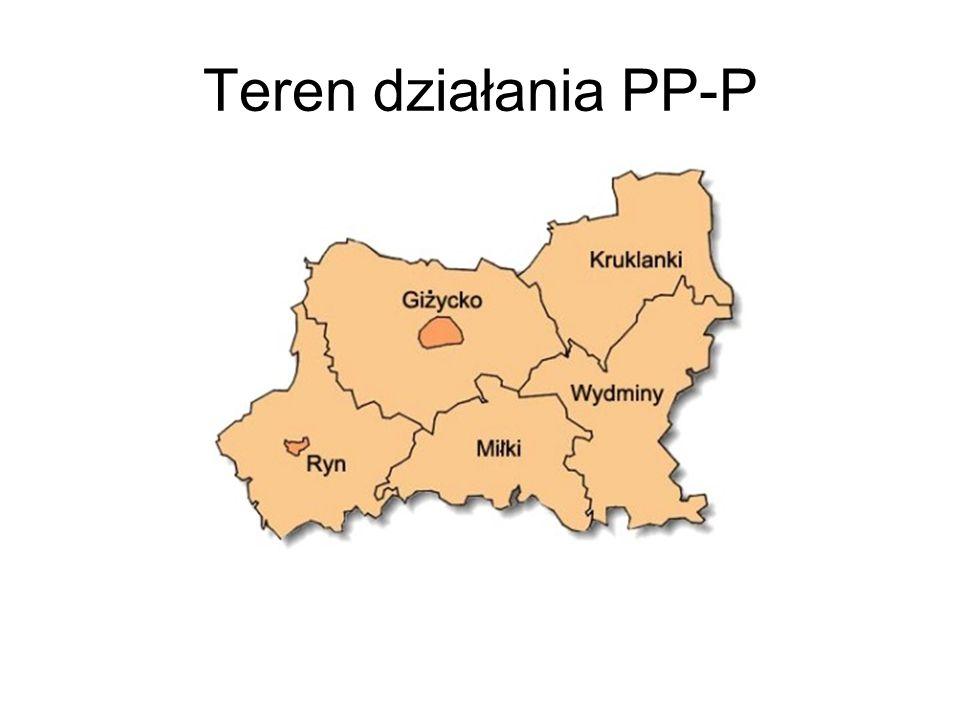 Teren działania PP-P