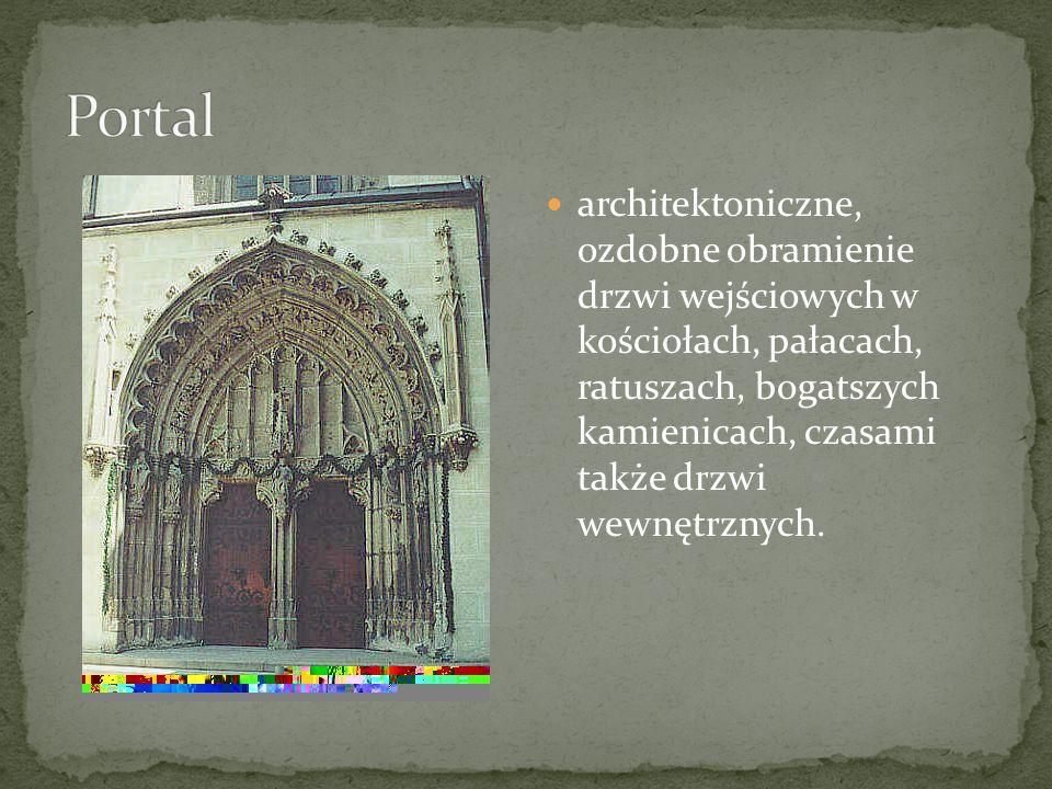 dekoracyjny, geometryczny wzór architektoniczny odk uty z kamienia lub zrobiony z cegieł, używany do wypełnienia górnej części gotyckiego okna, przeźrocza, rozety, itp.