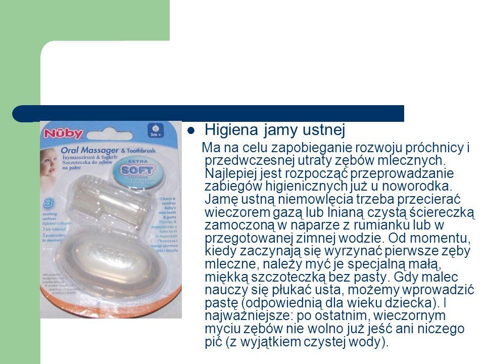 Higiena jamy ustnej Ma na celu zapobieganie rozwoju próchnicy i przedwczesnej utraty zębów mlecznych. Najlepiej jest rozpocząć przeprowadzanie zabiegó