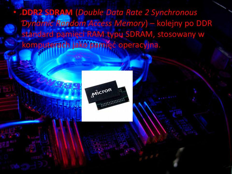 DDR2 SDRAM (Double Data Rate 2 Synchronous Dynamic Random Access Memory) – kolejny po DDR standard pamięci RAM typu SDRAM, stosowany w komputerach jako pamięć operacyjna.