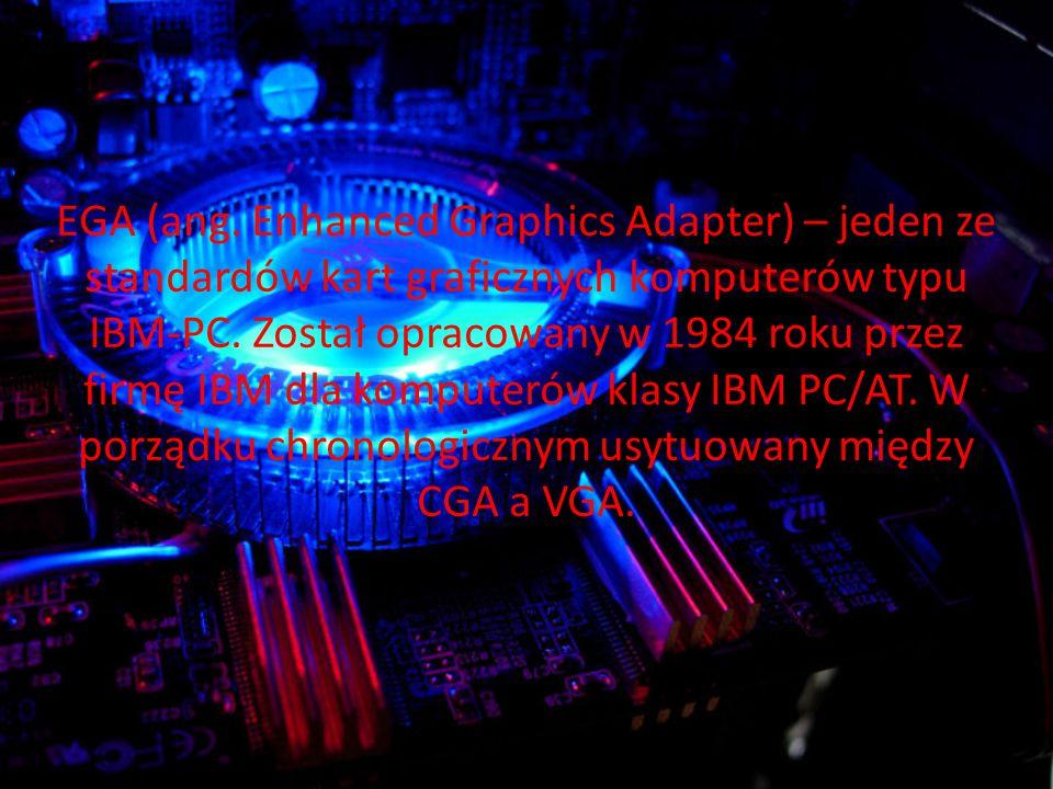 EGA (ang.Enhanced Graphics Adapter) – jeden ze standardów kart graficznych komputerów typu IBM-PC.