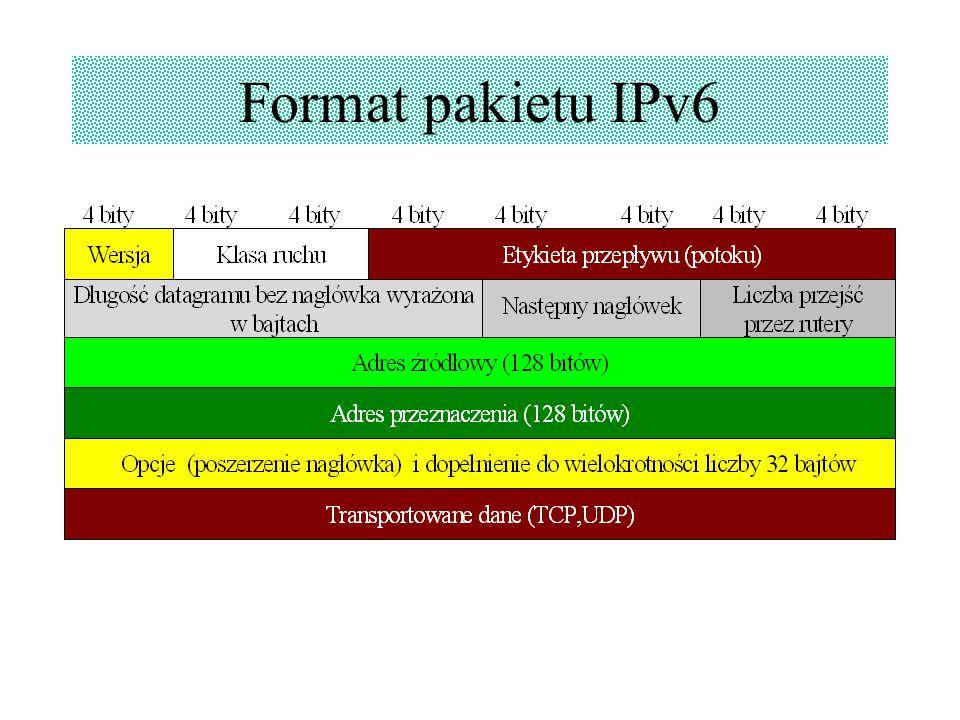 Format pakietu IPv6