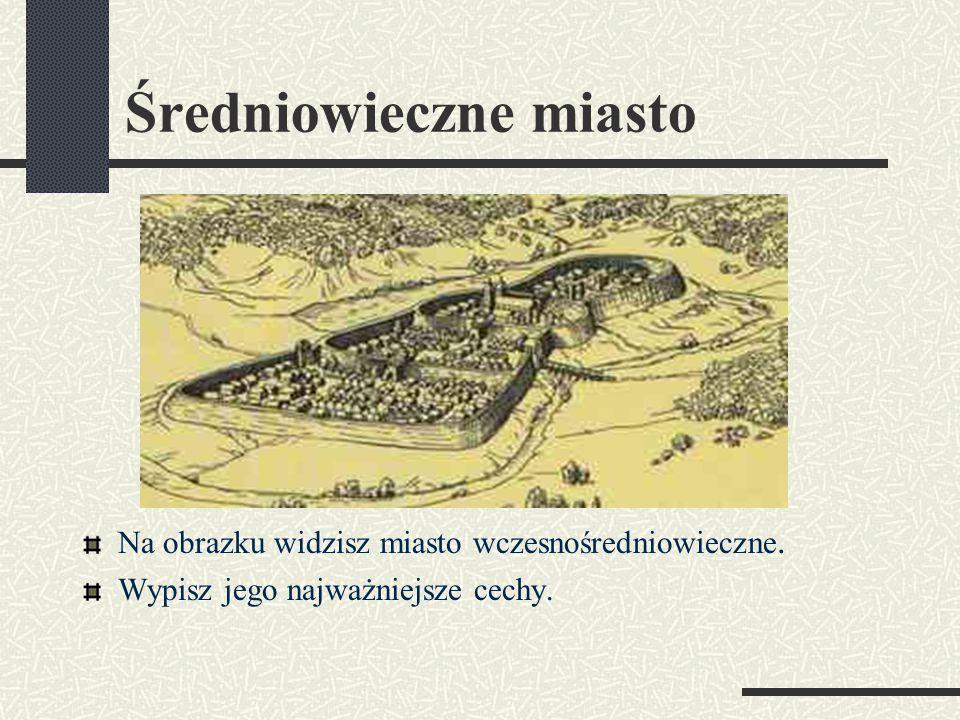 Średniowieczne miasto Prezentację przygotowano dla:
