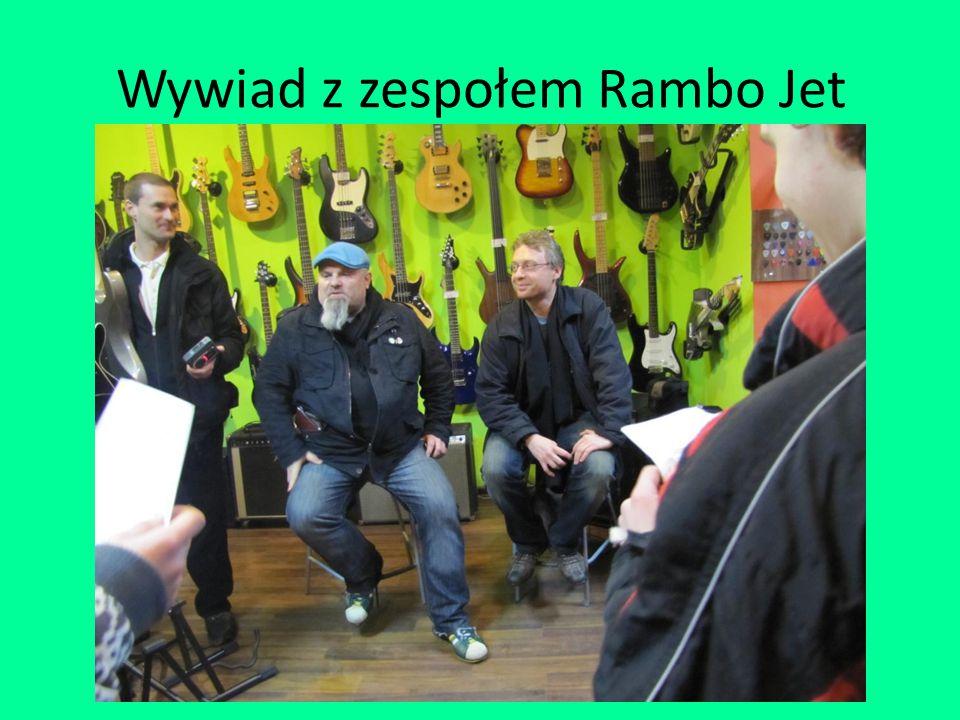 Wywiad z zespołem Rambo Jet