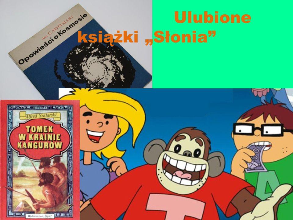 """Ulubione książki """"Słonia"""""""