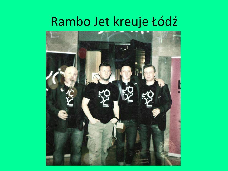 Rambo Jet kreuje Łódź