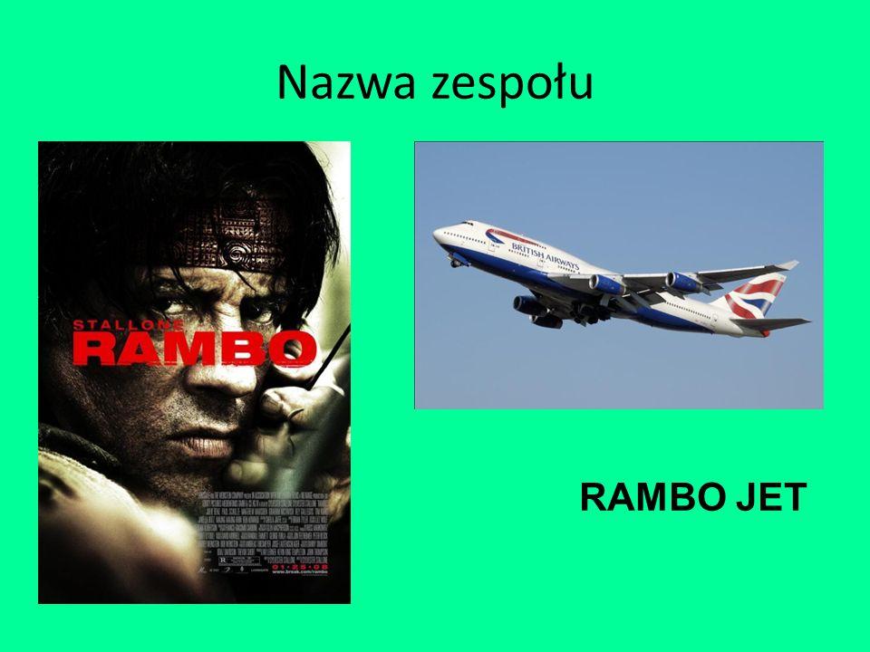 Nazwa zespołu RAMBO JET