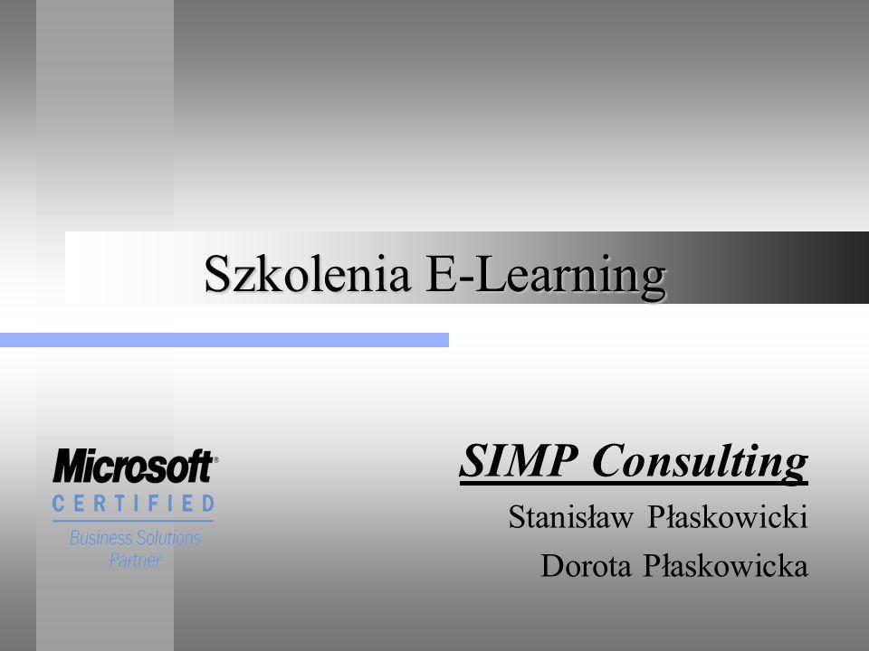 Szkolenia E-Learning SIMP Consulting Stanisław Płaskowicki Dorota Płaskowicka