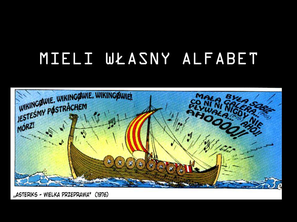 MIELI WŁASNY ALFABET