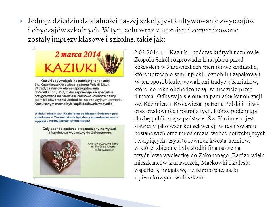 6.03.2014 r. – Akademia z okazji Dnia Kobiet (p. Andrzej Wiśnica)