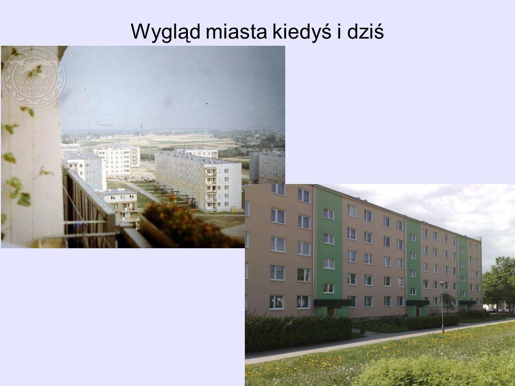 Wygląd miasta kiedyś i dziś