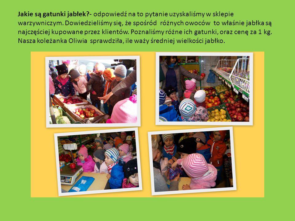 Jakie są gatunki jabłek?- odpowiedź na to pytanie uzyskaliśmy w sklepie warzywniczym.
