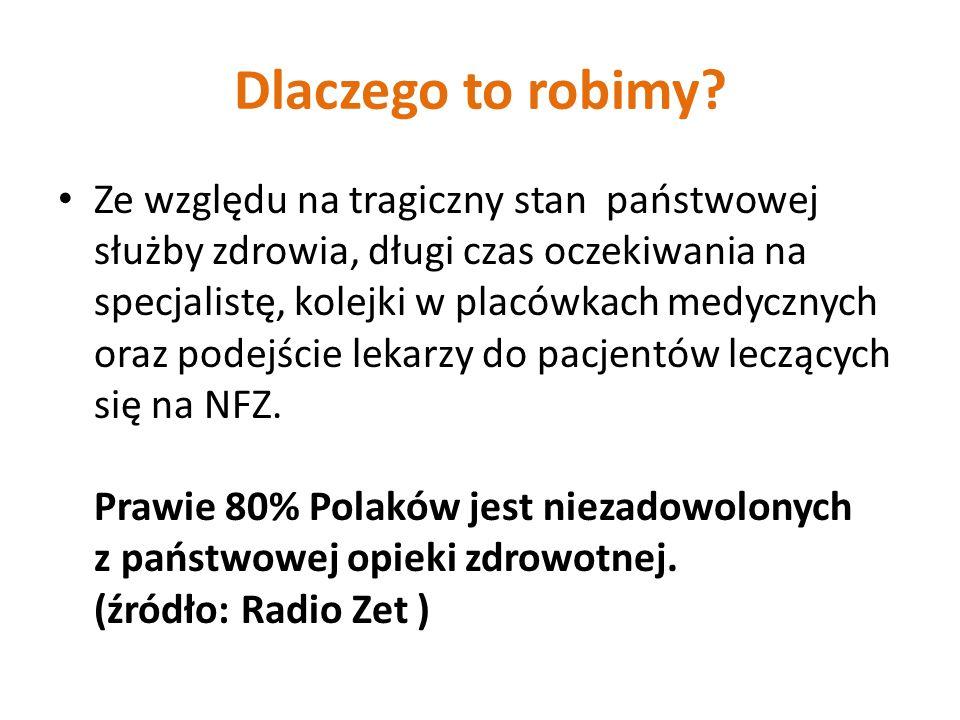 Możliwośc korzystania w dowolnym miejscu w Polsce - ponad 1000 nowocześnie wyposażonych placówek, Lepsza jakośc życia, bezpieczeństwo oraz wygoda dla siebie i rodziny, Elastycznie dopasowane terminy wizyt, punktualnośc przyjęc, Indywidualne, profesjonalne podejście do pacjenta przez wysoce wykwalifikowany personel medyczny,
