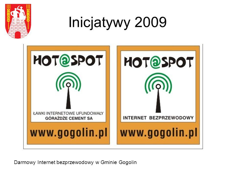 Inicjatywy 2009 Darmowy Internet bezprzewodowy w Gminie Gogolin