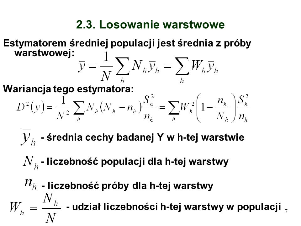 8 2.4.Warstwowanie po wylosowaniu próby Zał.