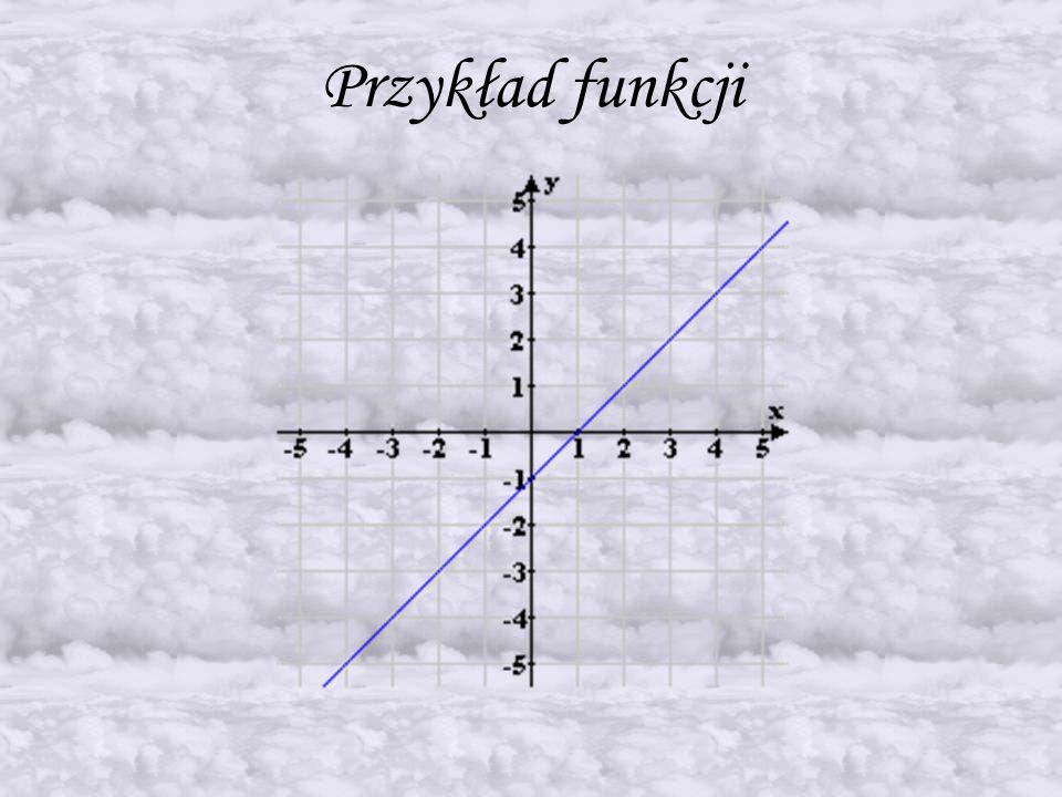 Definicja funkcji liniowej Funkcja liniowa jest to taki rodzaj funkcji, której wykresem jest linia prosta.