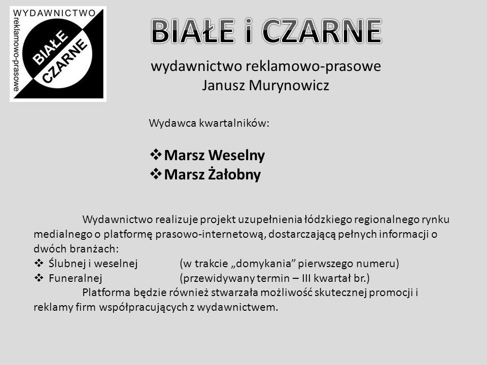 wydawnictwo reklamowo-prasowe Janusz Murynowicz Łódź, wraz z Pabianicami i Zgierzem tworzy jedną z największych metropolii w Polsce.