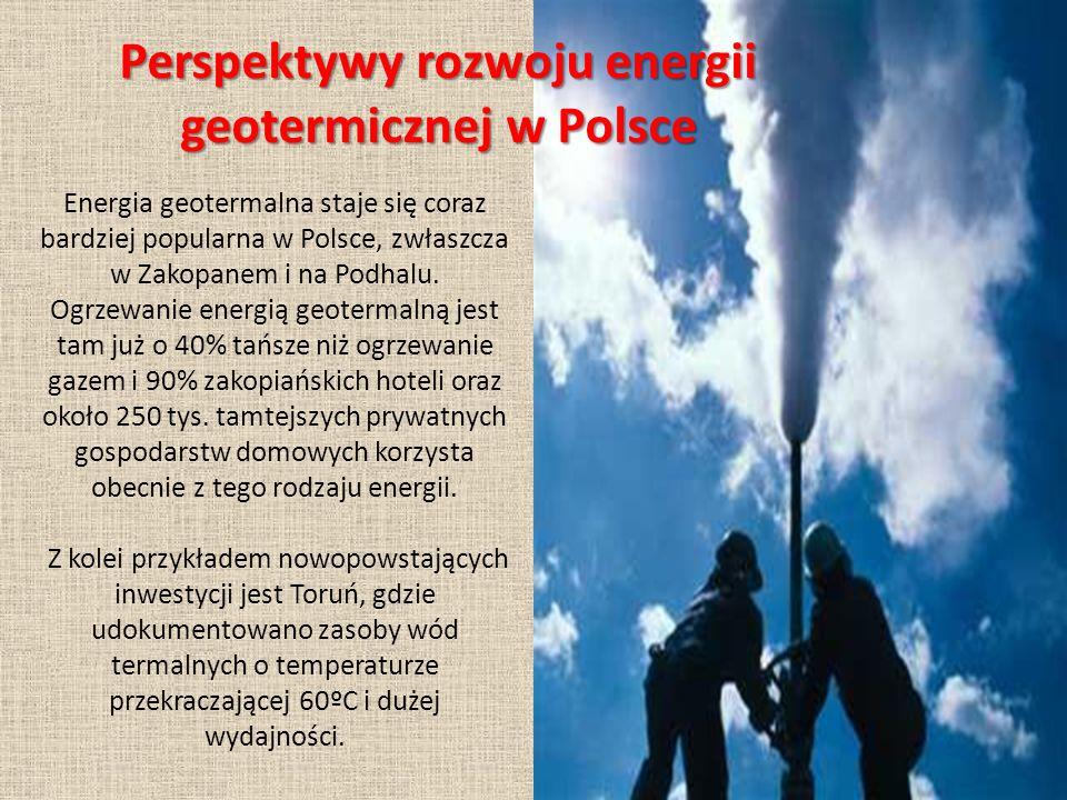 Energia geotermalna staje się coraz bardziej popularna w Polsce, zwłaszcza w Zakopanem i na Podhalu.