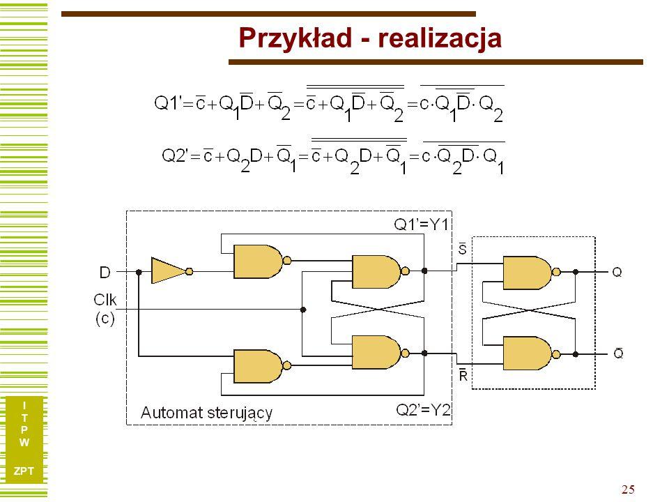 I T P W ZPT 25 Przykład - realizacja