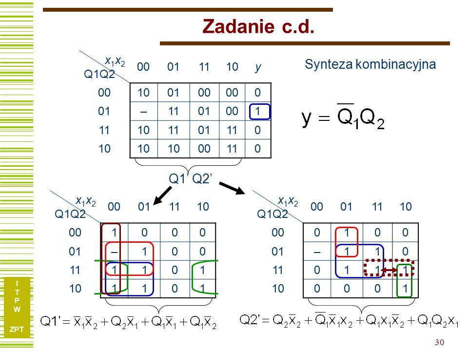 I T P W ZPT 30 Zadanie c.d.