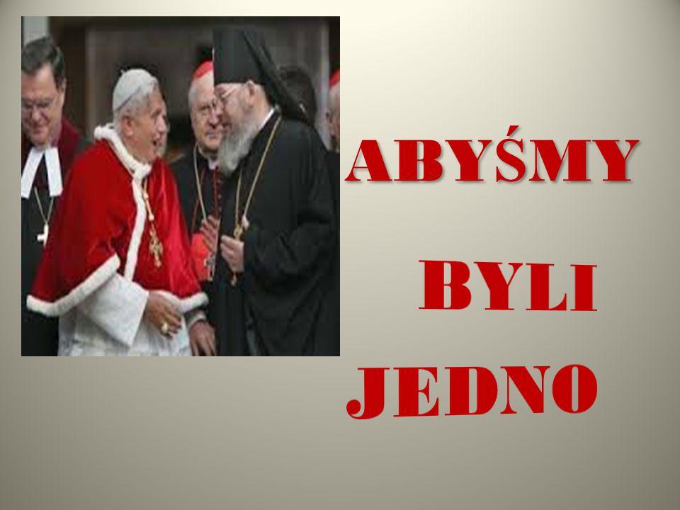 Matka Teresa,,JEDNOŚĆ CHRZEŚCIJAN JEST RZECZĄ BARDZO WAŻNĄ, GDYŻ JEST ŚWIATŁEM DLA INNYCH.