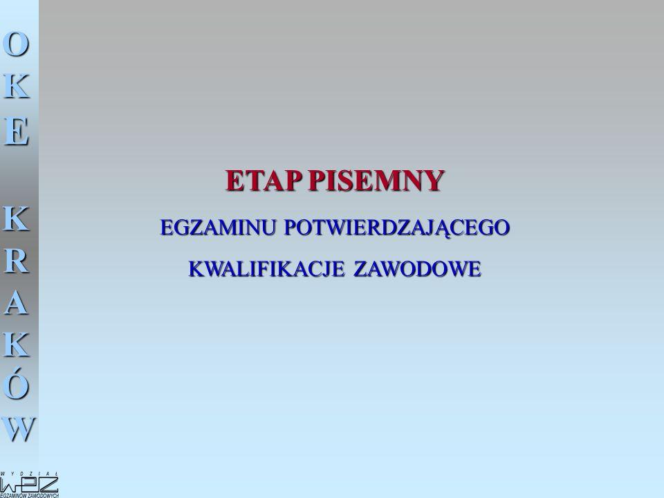 OKE KRAKÓW Zadania Przewodniczącego Zespołu Nadzorującego w dniu egzaminu - 21 czerwca 2005 1.Rozdanie zdającym kart odpowiedzi.