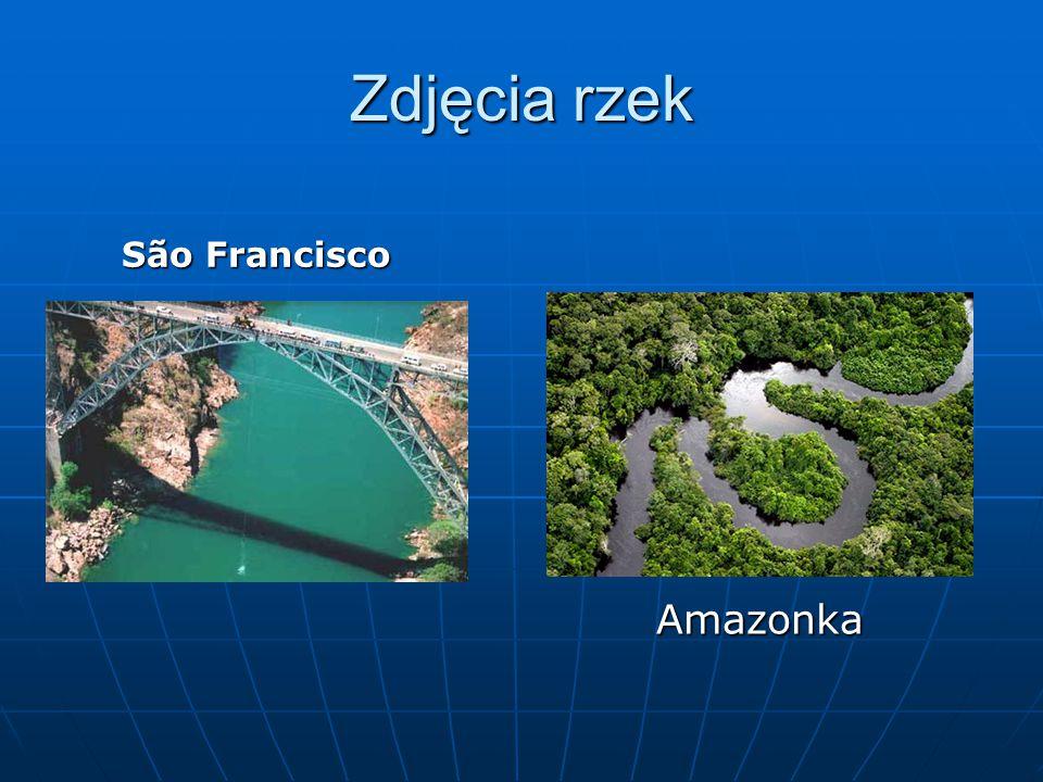 Zdjęcia rzek São Francisco Amazonka