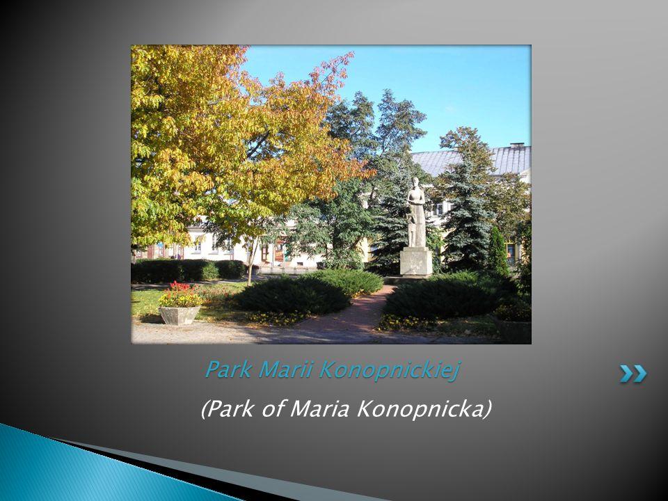 (Park of Maria Konopnicka) Park Marii Konopnickiej
