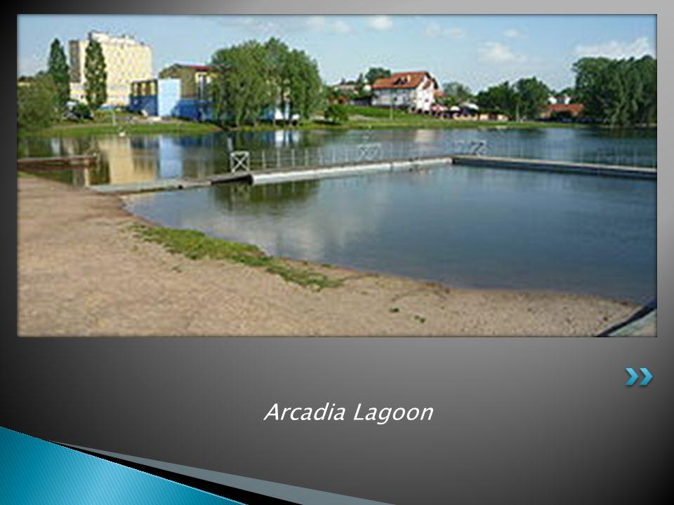 Arcadia Lagoon Zalew Arkadia