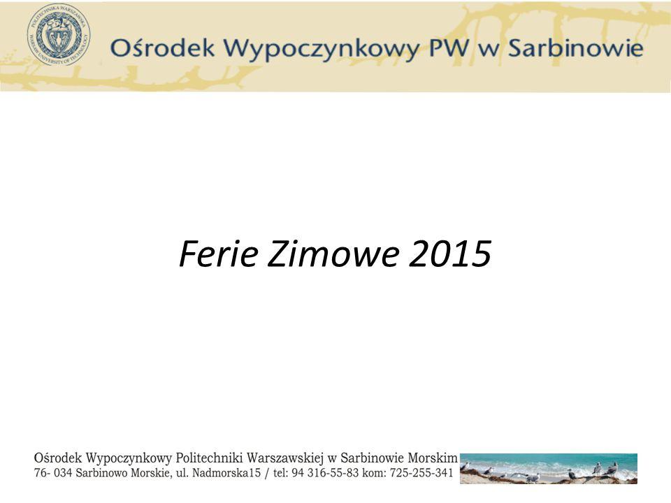Ferie Zimowe 2015