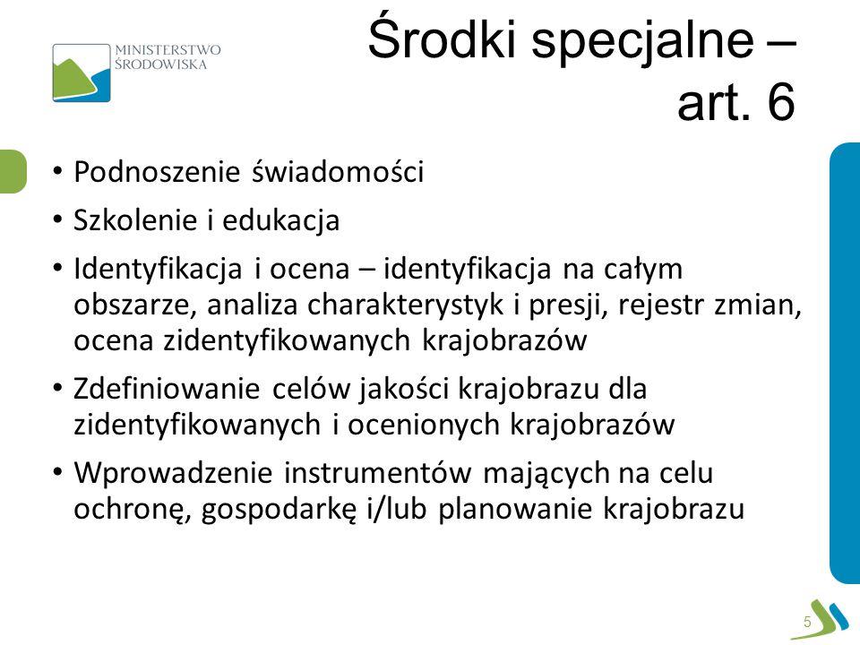 Środki specjalne – art.