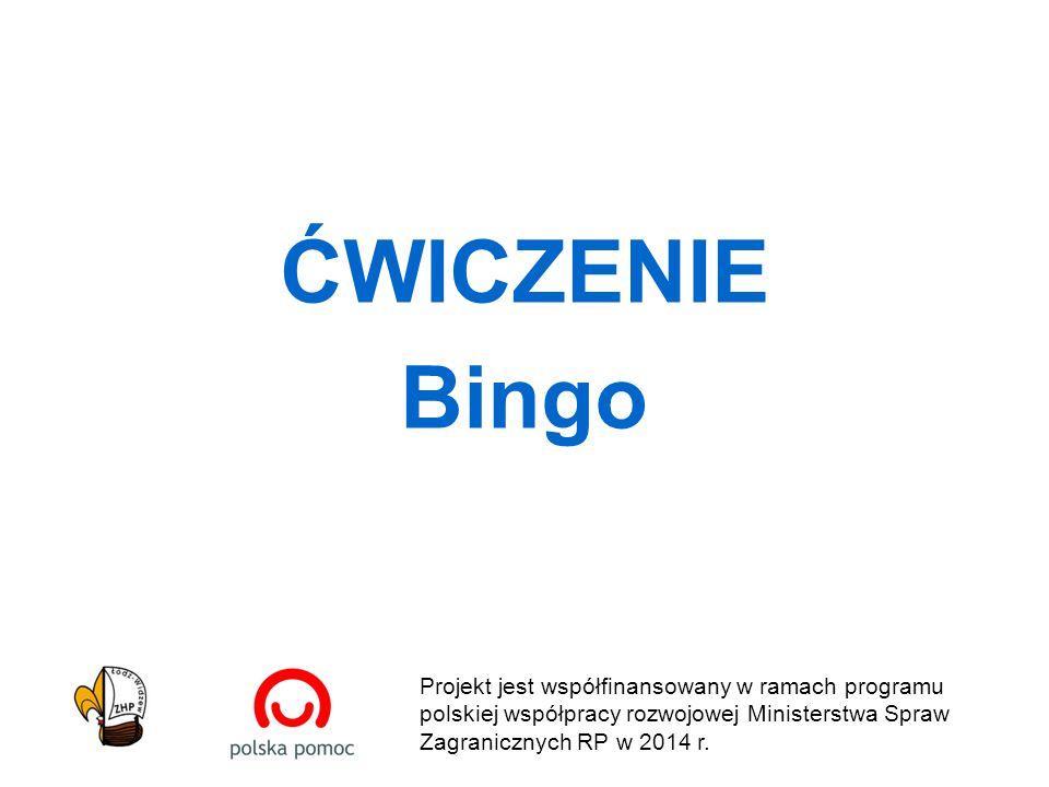 Projekt jest współfinansowany w ramach programu polskiej współpracy rozwojowej Ministerstwa Spraw Zagranicznych RP w 2014 r.
