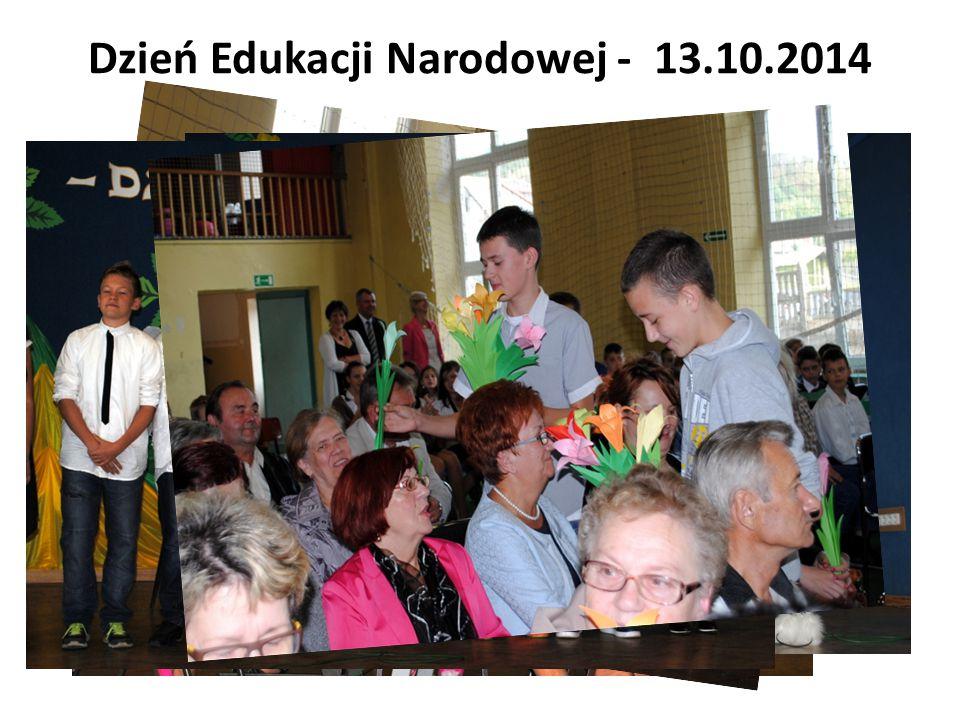 Dzień Edukacji Narodowej - 13.10.2014