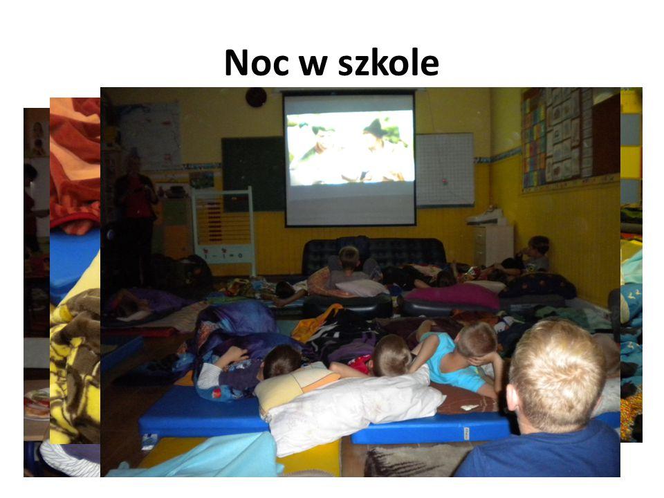Noc w szkole