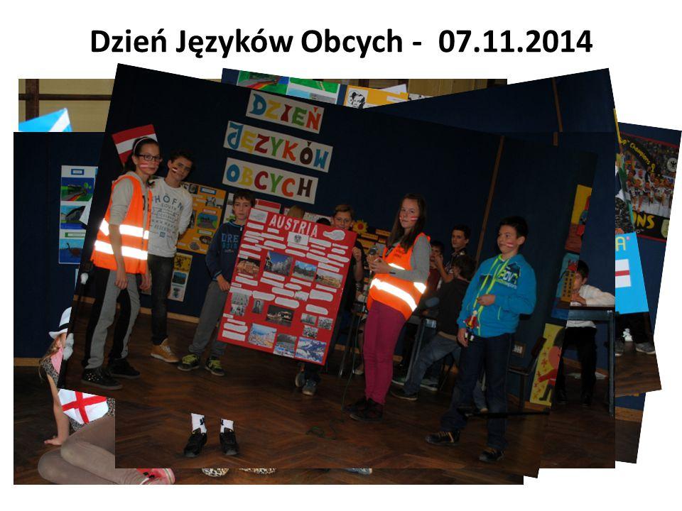 Dzień Języków Obcych - 07.11.2014