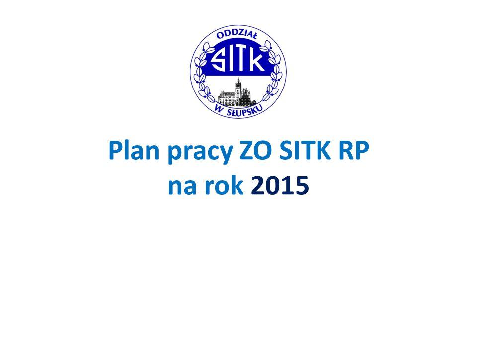 Plan pracy ZO SITK RP na rok 2015