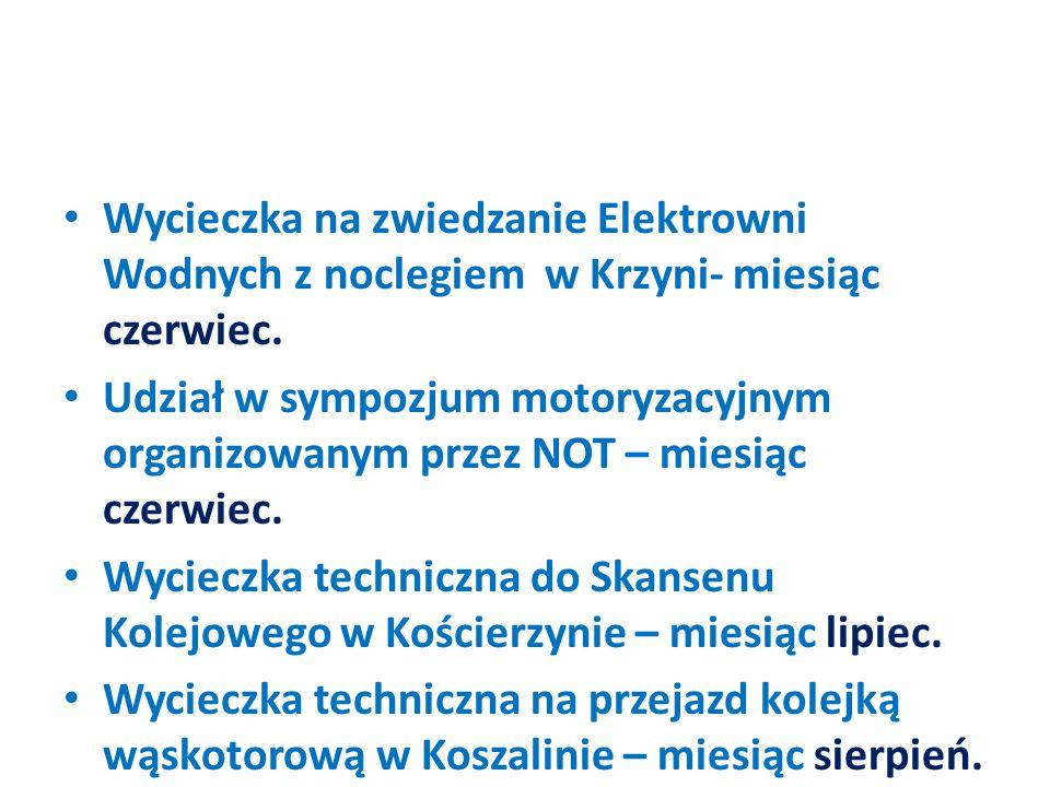 Sympozjum techniczne z okazji jubileuszu 45-lecia Międzyzakładowego Koła SITK RP przy Węźle PKP Słupsk – 04 września.