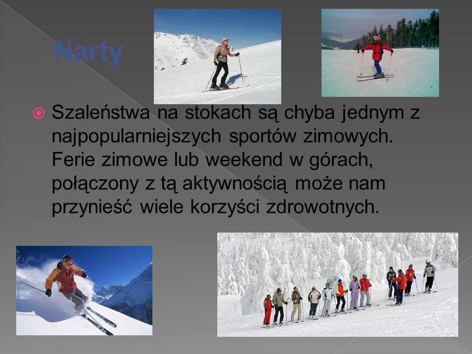  Szaleństwa na stokach są chyba jednym z najpopularniejszych sportów zimowych. Ferie zimowe lub weekend w górach, połączony z tą aktywnością może nam
