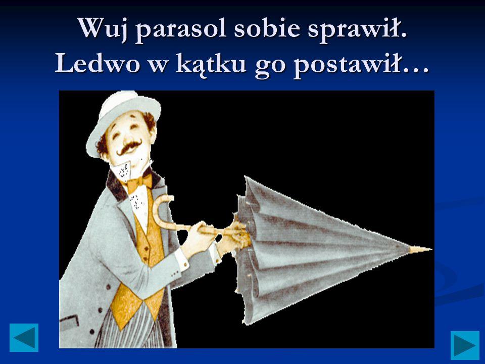 Maria Konopnicka Maria Konopnicka Parasol Ilustrowała: Anna Stylo-Ginter Całość opracowała Malwa